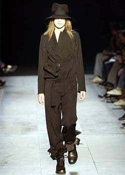 Ann Demeulemeester Fall 2003 Ready-to-Wear Collections 0001