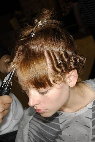 Marios Schwab Spring 2008 Ready-to-wear Backstage - 001