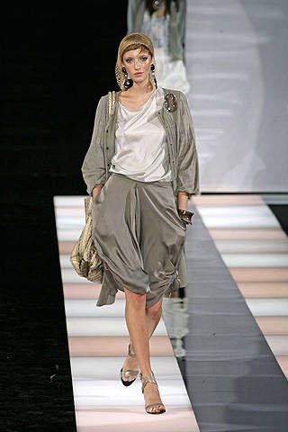 Giorgio Armani Spring 2008 Ready-to-wear Collections - 001