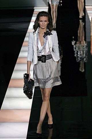 Emporio Armani Spring 2008 Ready-to-wear Collections - 001