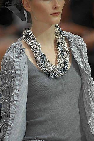 Moschino Spring 2008 Ready&#45&#x3B;to&#45&#x3B;wear Detail &#45&#x3B; 001