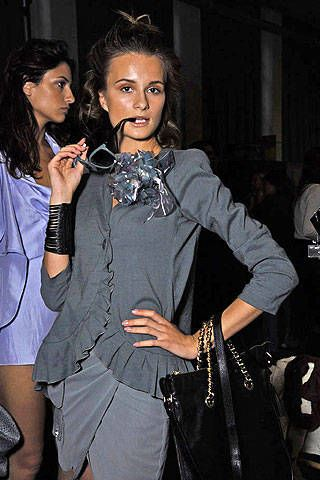 Emporio Armani Spring 2008 Ready-to-wear Backstage - 001