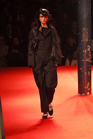 Yohji Yamamoto Spring 2008 Ready-to-wear Collections - 001