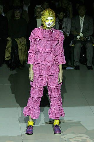 Comme des Garçons Spring 2008 Ready-to-wear Collections - 001