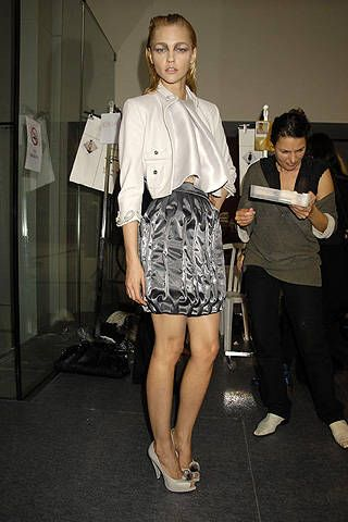 Sophia Kokosalaki Spring 2008 Ready&#45&#x3B;to&#45&#x3B;wear Backstage &#45&#x3B; 001