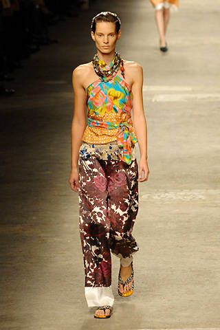 Dries Van Noten Spring 2008 Ready-to-wear Collections - 001