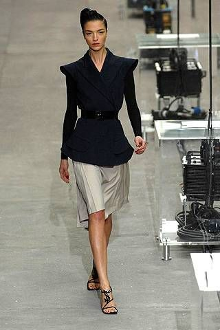 Yves Saint Laurent Spring 2008 Ready-to-wear Collections - 001