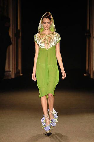 Junko Shimada Spring 2008 Ready-to-wear Collections - 001