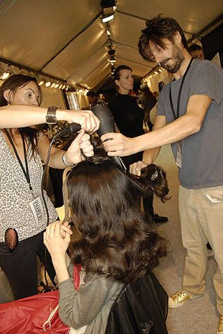 Sonia Rykiel Spring 2008 Ready&#45&#x3B;to&#45&#x3B;wear Backstage &#45&#x3B; 001