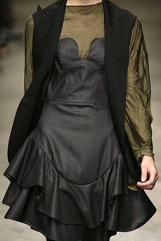 Yigal Azrouël Fall 2008 Ready-to-wear Detail - 001