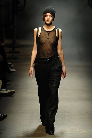 Alexander Wang Fall 2008 Ready&#45&#x3B;to&#45&#x3B;wear Collections &#45&#x3B; 001
