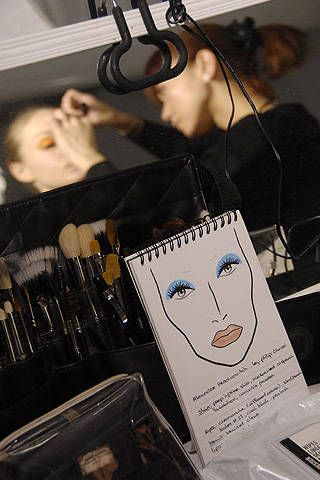 Alexandre Herchcovitch Fall 2008 Ready-to-wear Backstage - 001