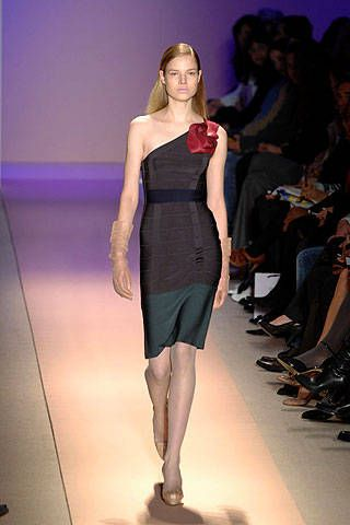 Herve Leger by Max Azria Fall 2008 Ready-to-wear Collections - 001