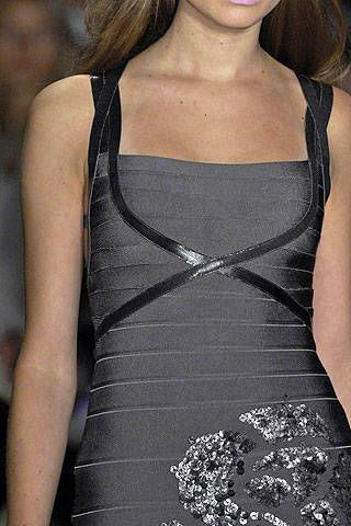 Herve Leger by Max Azria Fall 2008 Ready-to-wear Detail - 001