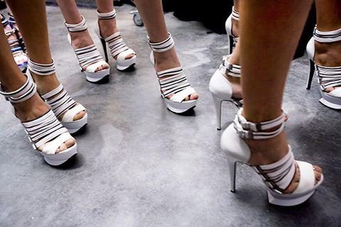 Footwear, Leg, Shoe, Human leg, Joint, White, Style, Fashion, Knee, Calf,