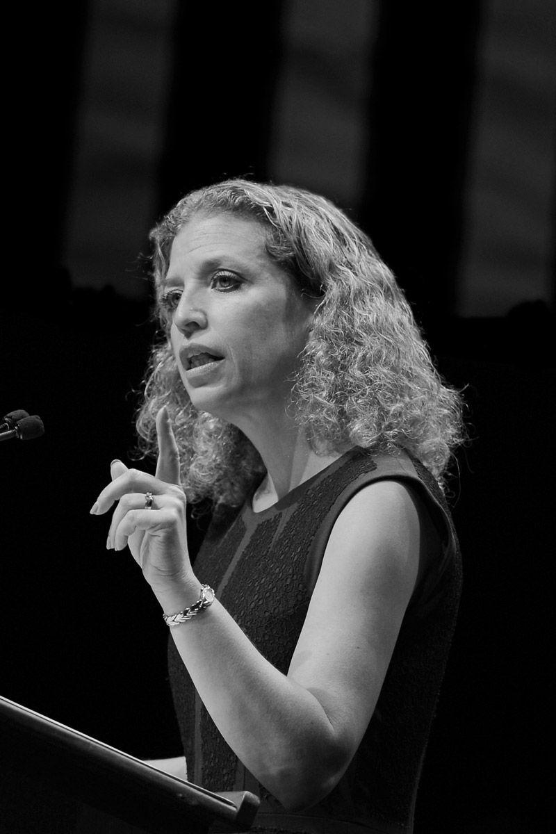 Liberal Firebrand Congresswoman Debbie Wasserman Schultz Gives as Good as She Gets