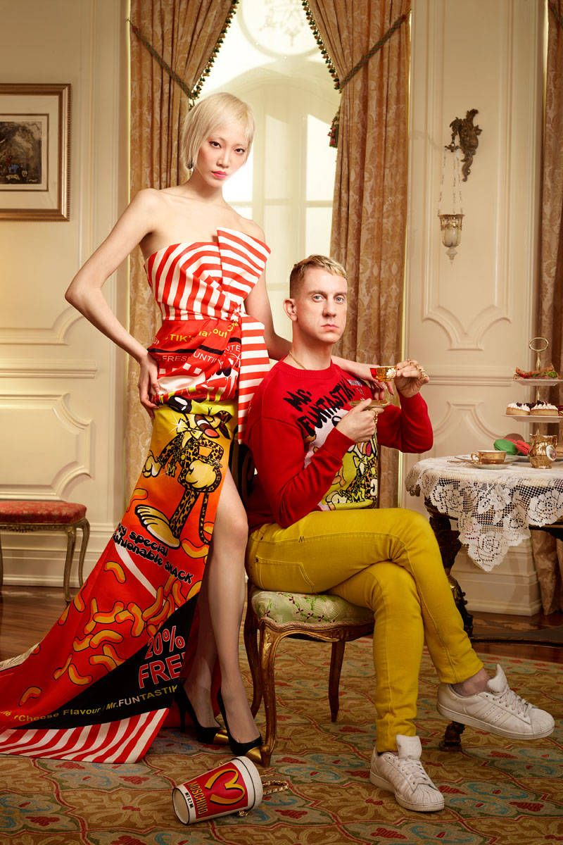 At Moschino, Jeremy Scott Turns Pop Culture Trash Into Sold-Out-In-Minutes Treasure