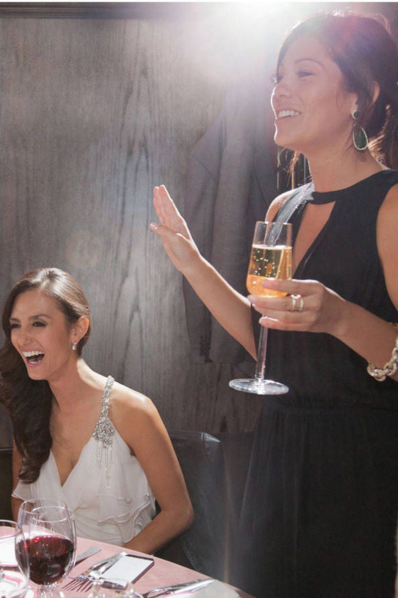 10 Wedding Speech Tips for the Maid of Honor