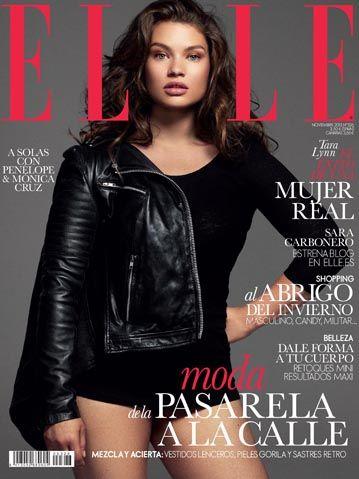 "ELLE Spain Cover Model Tara Lynn: ""It's Hard to Make Clothes Look Great on Big Women"""
