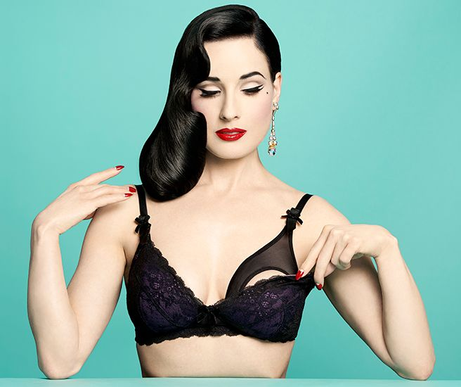 3ce0a9fc630 Dita Von Teese Maternity Wear Line-Controversial Lingerie