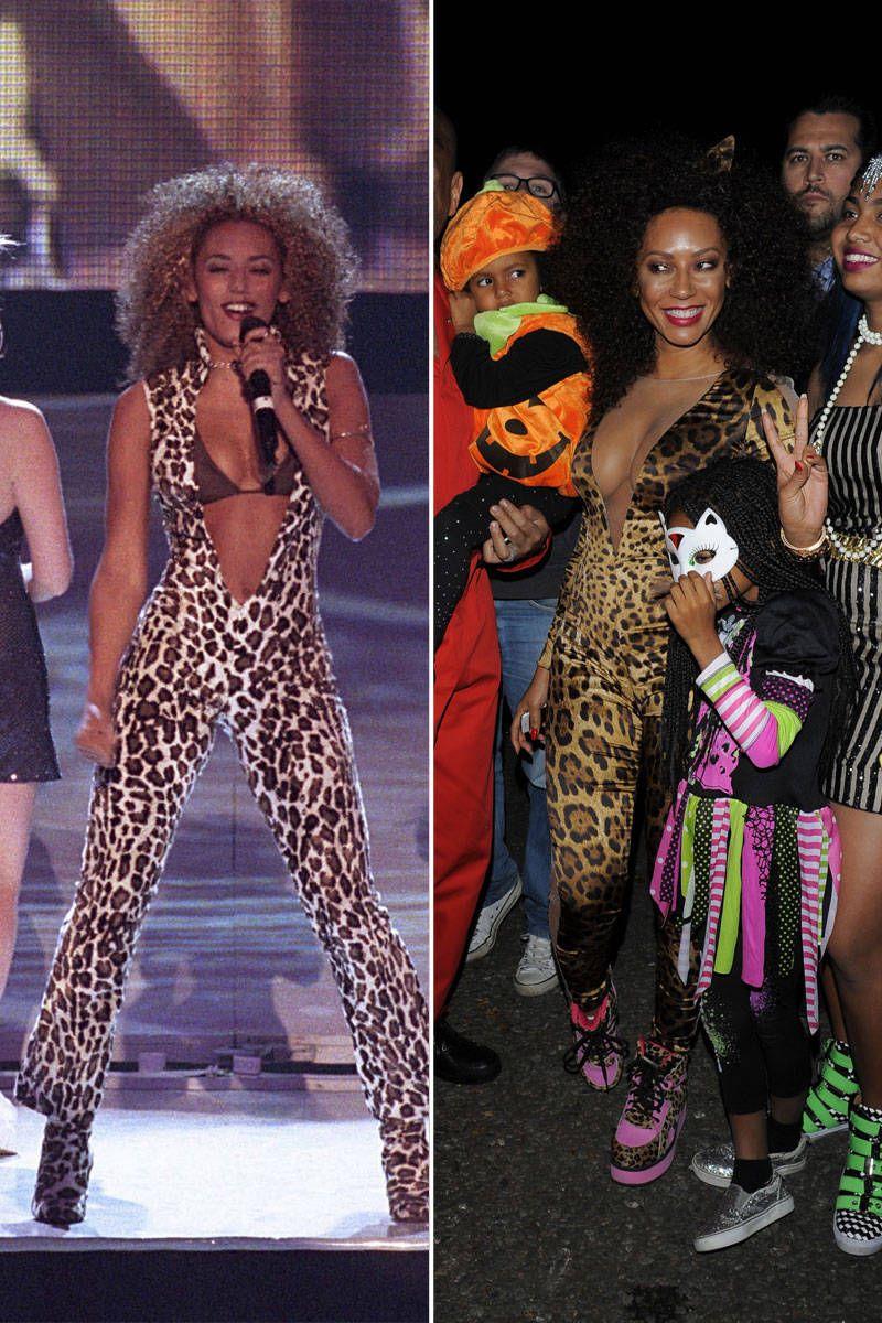 Mel B Halloween-Mel B Scary Spice Costume