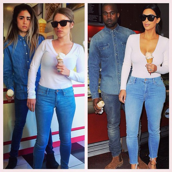 Meet the Two Besties Who Dress Up Exactly Like Kim Kardashian and Kanye West