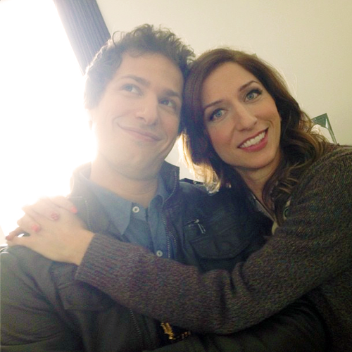Andy Samberg Interviews Chelsea Peretti Andy Samberg Talks To Chelsea Peretti