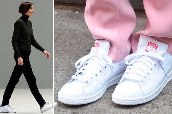 957e31e4641a How Adidas Sneakers Became a Fashion Girl