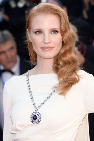 Quoted: Jessica Chastain on Wearing Elizabeth Taylor's Bulgari Necklace During Cannes
