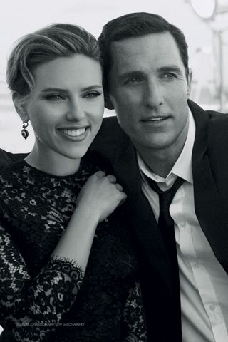 News You Can Use: Scarlett Johansson and Matthew McConaughey Cozy Up for Dolce & Gabbana; Miley Cyrus Will Take the AMA Stage