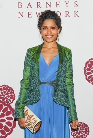 Freida Pinto, Barneys, and Maiyet Celebrate Varanasi Project