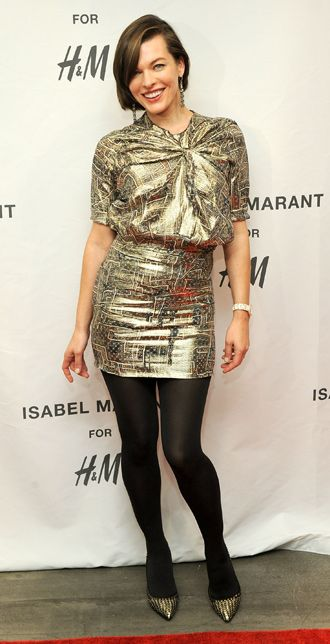 Milla Jovovich Sees Zombies at the Isabel Marant x H&M Preview