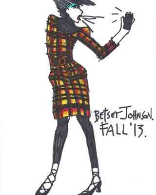 "It Will Be ""Breakfast at Betsey's"" for Johnson's Fall 2013 Show"