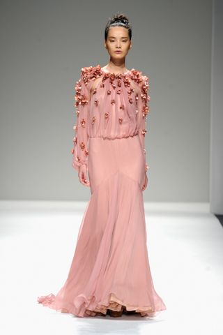 NYFW: Bibhu Mohapatra Reinvents the Floral Motif for Spring