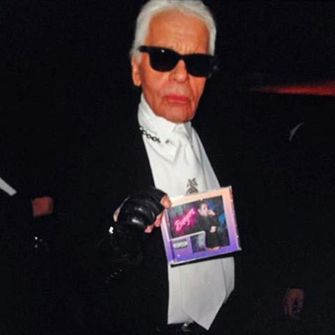 Of Course Karl Lagerfeld Is a Miley Cyrus Fan
