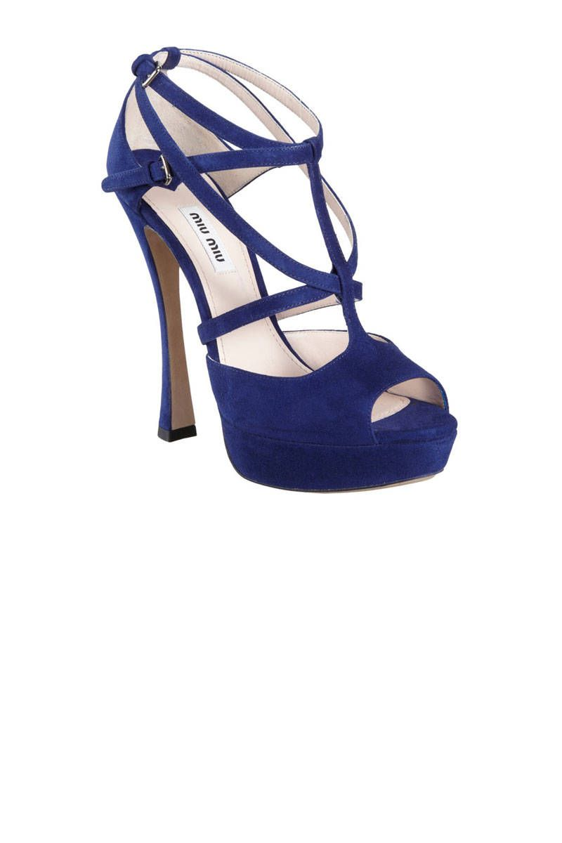 miu miu blue strappy sandals