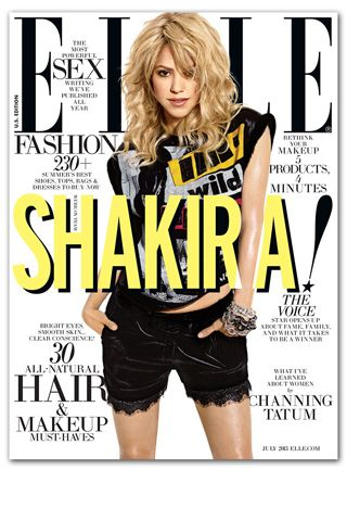 Green Living: ELLE's July Issue Now Available on the iPad