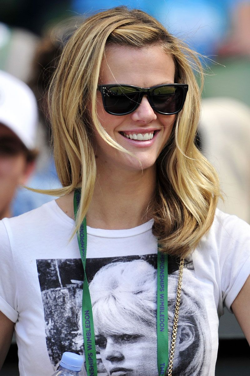 brooklyn decker wimbledon 2012 outfit
