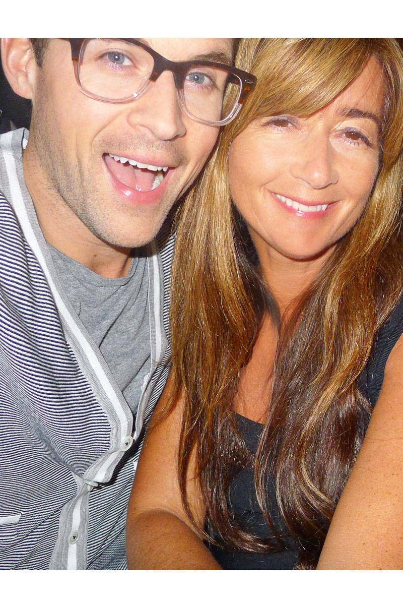 brad goreski and deborah lloyd in rio