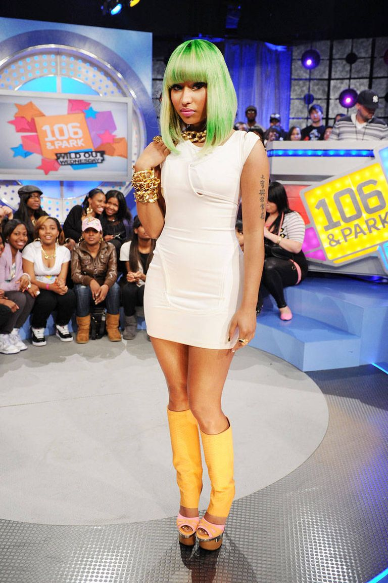 Nicki Minaj Style Fashion Pictures Of Nicki Minaj