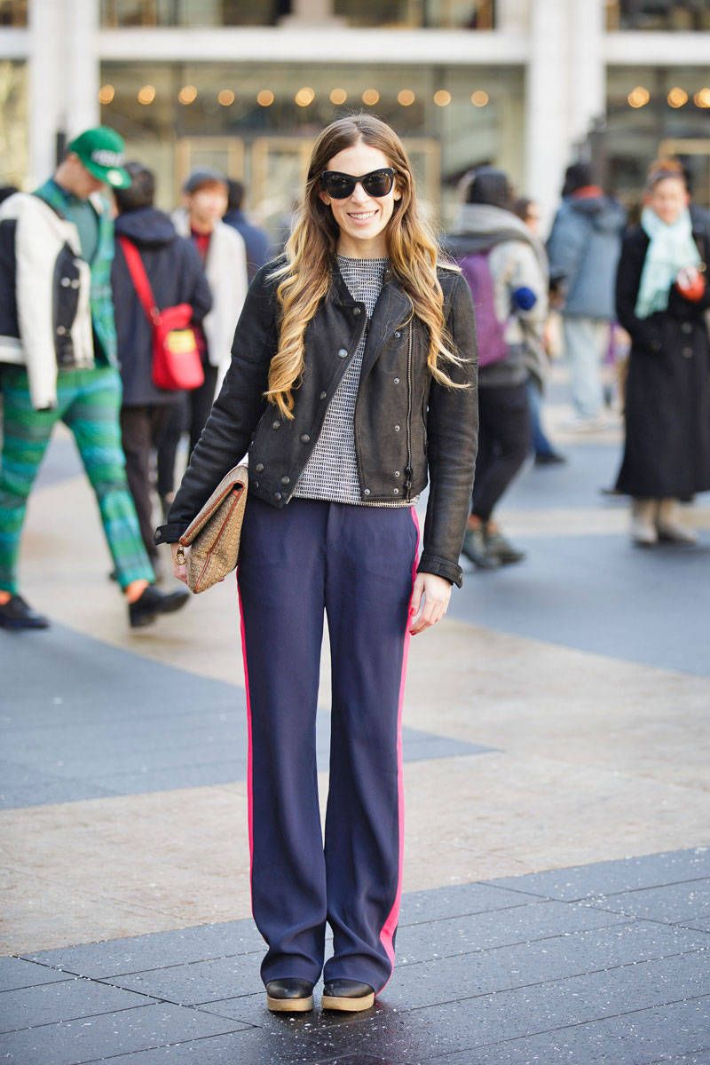 street style new york fashion week fall 2013 collections