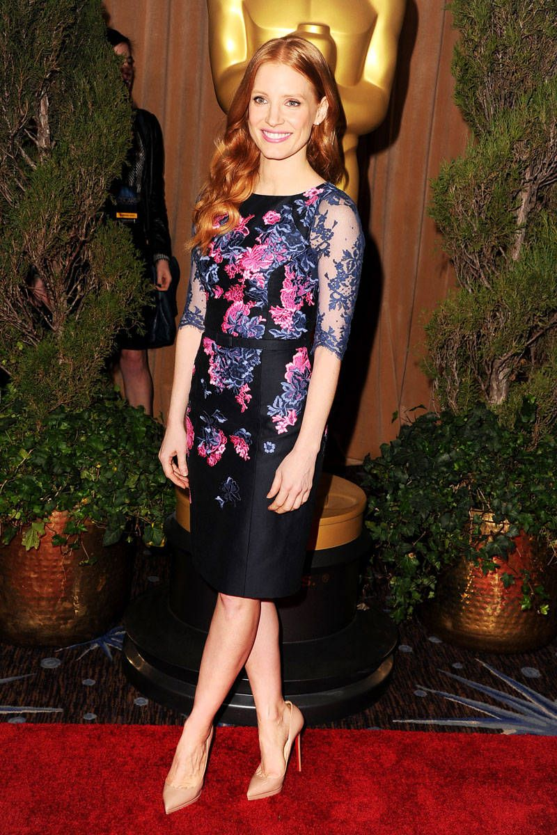 jessica chastain birthday beauty style moments