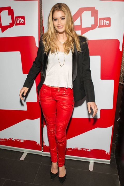 doutzen kroes dance4life world aids day 2012