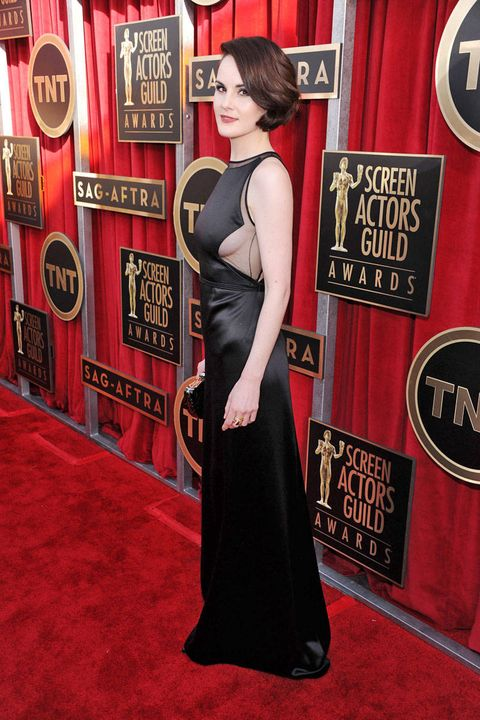 michelle dockery sag awards 2013