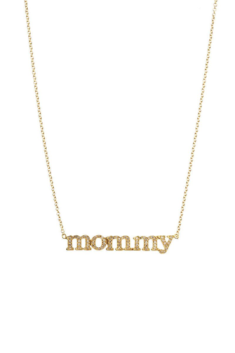 jennifer meyer diamond mommy pendant necklace