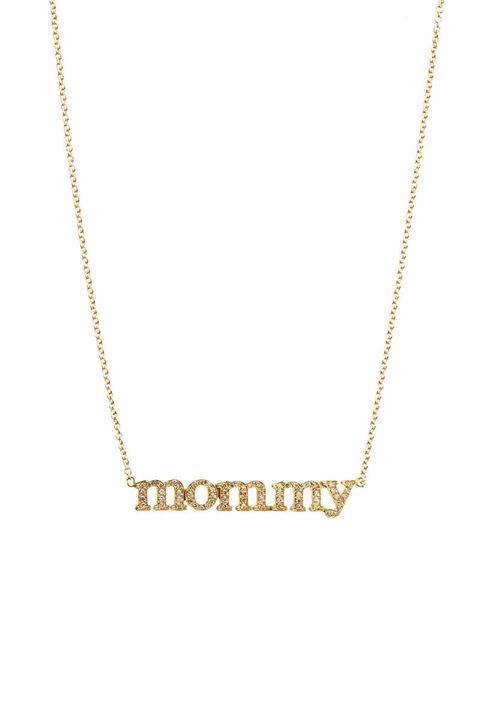 jennifer meyer diamond mommy pendant necklace