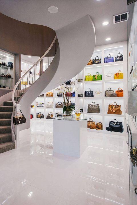 Interior design, Ceiling, Wall, Interior design, Stairs, Floor, Light fixture, Space, Material property, Design,