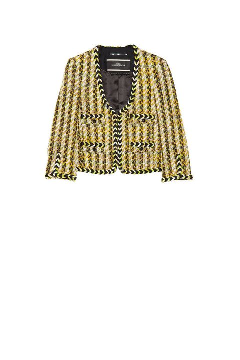 522c9908 Courtesy of NET-A-PORTER. The Blazer. By Malene Birger Woven Bouclé ...