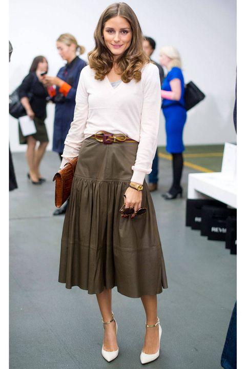 olivia palermo antonio berardi london fashion week
