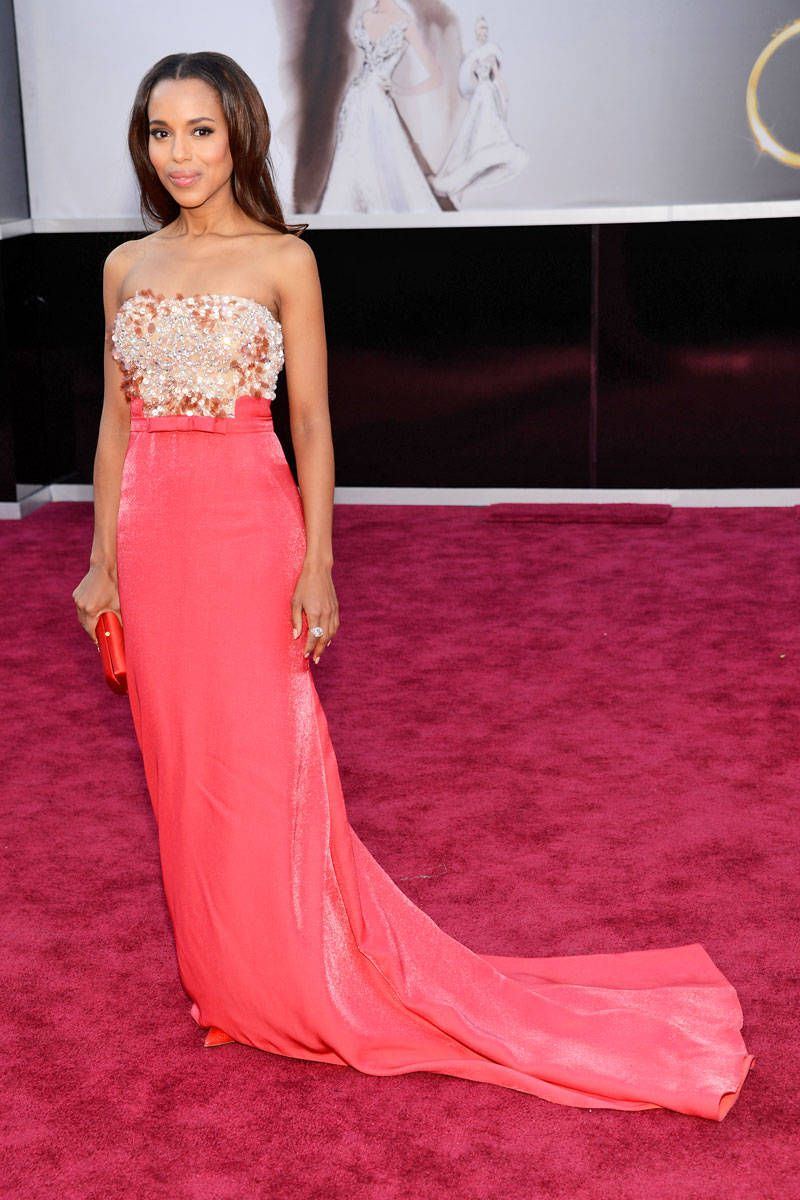 kerry washington oscars 2013 red carpet dress